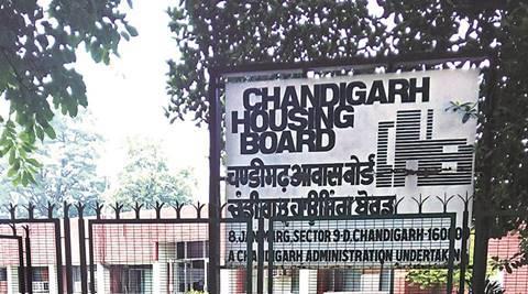 File photo of Chandigarh Housing board. Express file photo
